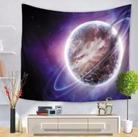 Wholesale Cosmic Print - Cosmic Planet Printing Tapestry Multifunction Beach Blanket Tablecloth Bed Sheet For Party Decoration 12style Star Lovers Gifts Free Ship