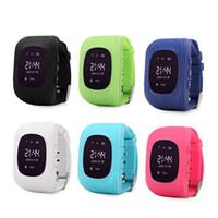 smartwatch à vendre achat en gros de-Enfants Intelligent Montre GPS Positionnement SOS Multi Funcation Smartwatch Silicone Anti Excrétion Cadeau Pour Enfants Multilingue Vente Chaude 43xw Ww