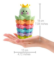 Wholesale Educational Toys For Toddlers - Stacking Cups for Toddlers and Owl Drawstring Backpack Mara s Box Educational Bath Toys for Boys and Girls