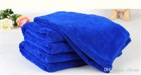 Wholesale free chemicals for sale - 40 cm Pet Supplies Microfiber Dog Towel Drying Towels Fashion Pet Bath Towels Hypoallergenic Chemical Free Cleaning Cloth