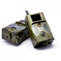 hd gprs mms оптовых-Suntek скаутинг охота камеры HC300M HD GPRS MMS цифровой 940nm инфракрасный Trail камеры GSM 2.0 ' LCD Hunter Cam Бесплатная доставка