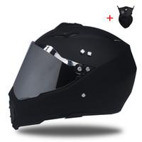 cascos integrales de motocross al por mayor-Envío gratis Motorcross off-road casco de la motocicleta hombres personalidad full locomotora de la cara tire de cuatro casco de seguridad de la carretera