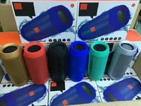 bluetooth-mini-hifi großhandel-2018 Neue Ankunft Charge2 + Plus Wireless Bluetooth Mini-Lautsprecher Bester Subwoofer Picknick im Freien tragbarer Mini-HiFi-Lautsprecher für Charge2 + Lautsprecher