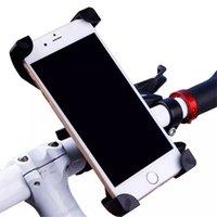 universal-fahrradhalterung großhandel-Fahrrad Fahrrad Tasche Handyhalter Lenker Clip Ständer Halterung Für Handy GPS iphone taschen