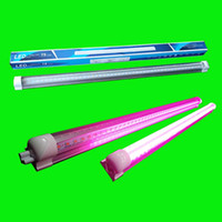 26w führte rohr großhandel-600mm 1200mm 1500mm T8 Led Tube Grow Light 18W 26W 36W 2ft 4ft 5ft RotBlue Led Lampen für Pflanzen Obst Gemüse Blumen
