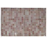 pegatinas de papel de cocina al por mayor-Hoja de mosaico de la etiqueta engomada de la pared del aceite de cocina de la prenda impermeable de la resistencia térmica de la hoja de aluminio