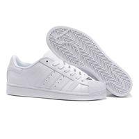 sapatos deslumbrantes para as mulheres venda por atacado-2019 Sapatos Masculinos Para Sapatos Femininos Sapato Branco Laser Dazzle Cor Superstar Shell Cabeça sapatos casuais Frete Grátis