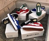 mavi kanvas ayakkabılar erkekler toptan satış-VANS Old Skool 2018 New Designer Shoes Avengers Storm Men's Shoes Slippers Women's Shoes Yellow Red Vans