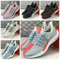 Wholesale foam running shoes for sale - Group buy 2018 Zoom Pegasus Turbo Barely Grey Hot Punch Black White Running Shoes For Men Women React ZoomX Foam fly Pegasus Eur