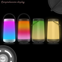 Wholesale Card Torch - Explosion creative LED flame lamp atmosphere wireless Bluetooth speaker torch a1 torch sound new