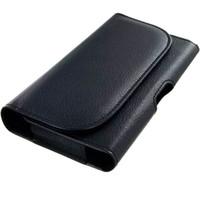 holsters clip iphone venda por atacado-Universal celular pu clipe de cinto de couro coldre maleta case capa para iphone x xs max samsung telefones