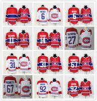 Wholesale montreal price - Men Montreal Canadiens Jerseys 6 Shea Weber 11 Brendan Gallagher 14 Tomas Plekanec 27 Alexei Kovalev 31 Carey Price 67 Max 92 Jonathan