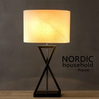 fabric stores NZ - led e27 Korean Iron Fabric LED Lamp .LED Light .Table Light.Table Lamp.Desk Lamp.LED Desk Lamp For Bedroom Study Office Store