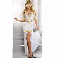 d42bbe39ed Las mujeres atractivas de la reina árabe de Egipto Cleopatra traje de  disfraces ropa de Halloween traje egipcio ropa étnica