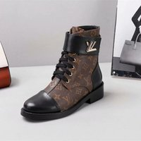 Wholesale black suede ladies heel boots resale online - 2018 Luxury New Women s cm High Heels Black Genuine Leather With Spikes Red Bottom Martin Boots Ladies New Fashion Wedges Winter Shoes