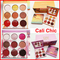 Wholesale chic wear - Beauty Creations Cali Chic Eyeshadow 9 Colors Eye shadow Palette Highlighter Cosmetics Matte and Shimmer Eyeshadow DHL free shipping