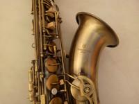 sax c achat en gros de-Nouveau Professionnel Haute Qualité YANAGISAWA T-992 Sib Tenor B Sax Saxophone Plat de Haute Qualité En Laiton Antique Bronze Perle Boutons Avec Embouchure