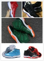 Wholesale easter door - 2018 Mens and Womens 11s Low Barons Basketball Shoes Out Door Sports Sneakers for Men Size US5.5-13 free shipping