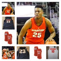 Wholesale basketball number 23 - Syracuse Orange NCAA College Basketball Jerseys Custom #10 # 25 Tyus Battle 11 Oshae Brissett 23 Frank Howard Any Name Number Stitched