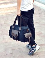 Wholesale Hot men women travel bag PU Leather duffle bag brand designer luggage handbags large capacity sports bag
