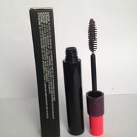hacim markası toptan satış-Kahverengi renk Gözler Kozmetik Makyaj Marka HauteNaughty Kirpik Hacmi Maskara Çift Effet 9g