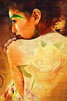 malerei nackt mädchen großhandel-handbemalt auf Leinwand nackte Mädchen Ölgemälde nackt Malerei Frau Leinwand Kunst Wohnzimmer Dekoration Bild hängen an der Wand vorhanden