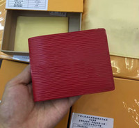 Wholesale 2018 wallets Purse Men Wallet luxury designer brand women wallets Fashion Men Purse Short Coin Pocket Men Purse with box