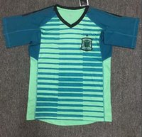 casillas jersey venda por atacado-2018 copa do mundo espanha camisa de futebol goleiro número do nome personalizado DE GEA REINA IKER CASILLAS GK camisas de futebol uniformes de futebol
