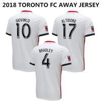 b27b0a54e 2018 Toronto FC Away Soccer Jersey TFC Altidore Bradley Bakero Giovinco  Hamilton Football Shirt Morrow Moor Morgan Thailand Quality Uniforms