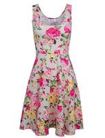 a68a29f2c3f1 ... de la manera del vestido ocasional más el tamaño barato vestido de China  12 diseños mujeres ropa de moda sin mangas Summe vestido envío gratis más  nuevo