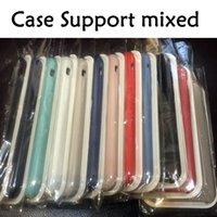 iphone 5s apfel-logo großhandel-Telefonkästen Für Apple iphone 5 5s SE X Silikonkasten haben Logo Offiziellen Fall für iPhone 6 7 8 plus Original Case Silikonhülle