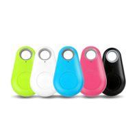 key finder locator großhandel-NEUE anti-verloren iTag Tracing Mini Smart Finder Bluetooth Tracer Haustier Kind GPS Locator Tag Alarm Wallet Key Tracker