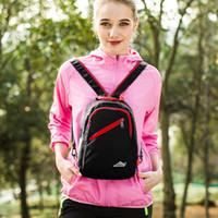 Wholesale mini outdoor climbing bag resale online - 2 in Outdoor Backpack Waterproof Men Women Mini Running Waist Bag Riding Cycling Sports Shoulder Bag Camping Climbing Bags New