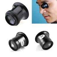 ferramentas de joalharia venda por atacado-Lente de Lupa de Lupa de Lupa Portátil 10X Lupa de Olho de Ferramenta de Joalheiro