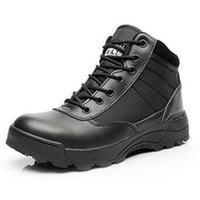 swat stiefel wüste großhandel-Desert SWAT American Combat Stiefel Outdoor Schuhe atmungsaktive tragbare Stiefel EU Größe 39-45