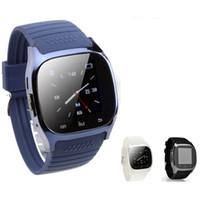 ver deportes inalámbricos al por mayor-Smartwatch M26 Bluetooth dispositivo portátil inalámbrico Smart Watch Sport Watch para Samsung Note 7 Universal Android Teléfono móvil con caja al por menor