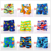7749267061ee0 Summer Boy Swim Trunks Baby Boy Clothes Polyester Animal Printed Swimwear  Kids Board Shorts Boys Swimsuit for 1-10T M111