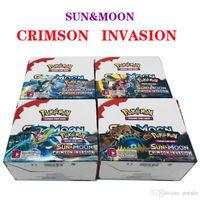 juguetes prismáticos al por mayor-324 unids / lote Juegos de Cartas Coleccionables BLACK WHITE ULTRA PRISM SunMoon Evolution adivina las tarjetas de anime contra muggles Anime Pocket Monsters Toys