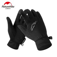 Wholesale drive baseball for sale - Naturehike Touch Screen Slim Five Fingers Glove Soft Patchwork Sports Fleece Gloves Kit Hiking Driving Cycling Travel Winter Spring