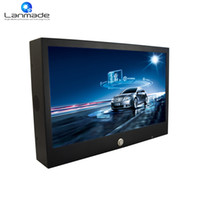 Wholesale outdoor advertising screens - 15.6inch semi-outdoor rechargeable lithium battery waterproof led advertising screen