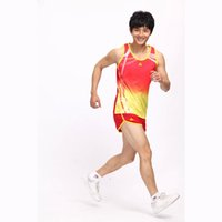 Wholesale Quick Walk - Women Track And Field Sets Polyester Quick Dry Running Jogger Suit IAAF Men Marathon Race Walking Tracksuit LD T2