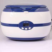 ingrosso macchina per pulizia del chiodo-strumento Nail 35W LED Digital ultrasuoni lavatrice ad ultrasuoni 220V Bagno macchina più pulita di pulizia