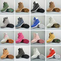 frauen weiße stiefel großhandel-Timberland boots New ACE Original Brand Stiefel Damen Herren Designer Sport Rot Weiß Winter Sneakers Casual Trainer Herren Damen Luxus Designer Schuhe Boot