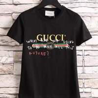 Wholesale Puff Shorts - High quality women's T-shirt short-sleeved T-shirt and teddy bear printed T-shirt celebrity t-shirts with the same paragraph t-shirts
