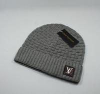 ingrosso berretto da slitta-Cappelli di alta qualità lusso moda per il tempo libero Berretti Solid Hip-Hop Snap Slouch Skullies Berretto Bonnet regalo di Natale per gli amanti Cappello 160