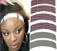 dantelli toupee toptan satış-Toptan süper kalite Su Geçirmez saç bandı Çift Yan Yapıştırıcı Süper Bant Dantel Peruk Peruk Değiştirme için