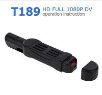 Wholesale digital pen camcorder resale online - Full HD P Mini Camera T189 Pen Camera Voice Recorder Digital Video Camera Recorder Portable DV Mini Camcorder