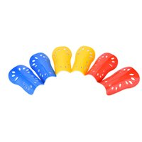 Wholesale Pro Sports Football - New Pro Football Leg Protector Pads Sports Safety Basketball Shin Guards Protective Gear For Legs Football Shin Pads 5 Colors
