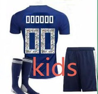Wholesale kids cartoon shirts - 2018 Japan soccer jersey ATOM CARTOON NUMBER version Japan Tsubasa KAGAWA OKAZAKI NAGATOMO KAMAMOTO Football woman kids kit Shirt
