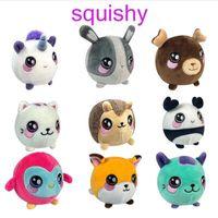 Wholesale plush penguin toys online - 15 Styles cm Penguin Unicorn Squishy Slow Rising Foamed Stuffed Plush Doll Kids Squishamals Xmas Toys Novelty Items CCA10483
